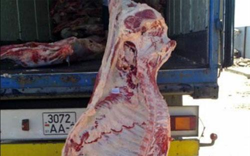 Перевозчики из Казахстана не смогли предъявить ветеринарные документы на говядину и свинину