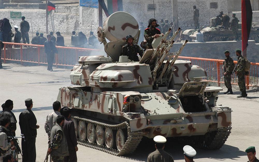 Россия готова поставлять в Афганистан боевую технику