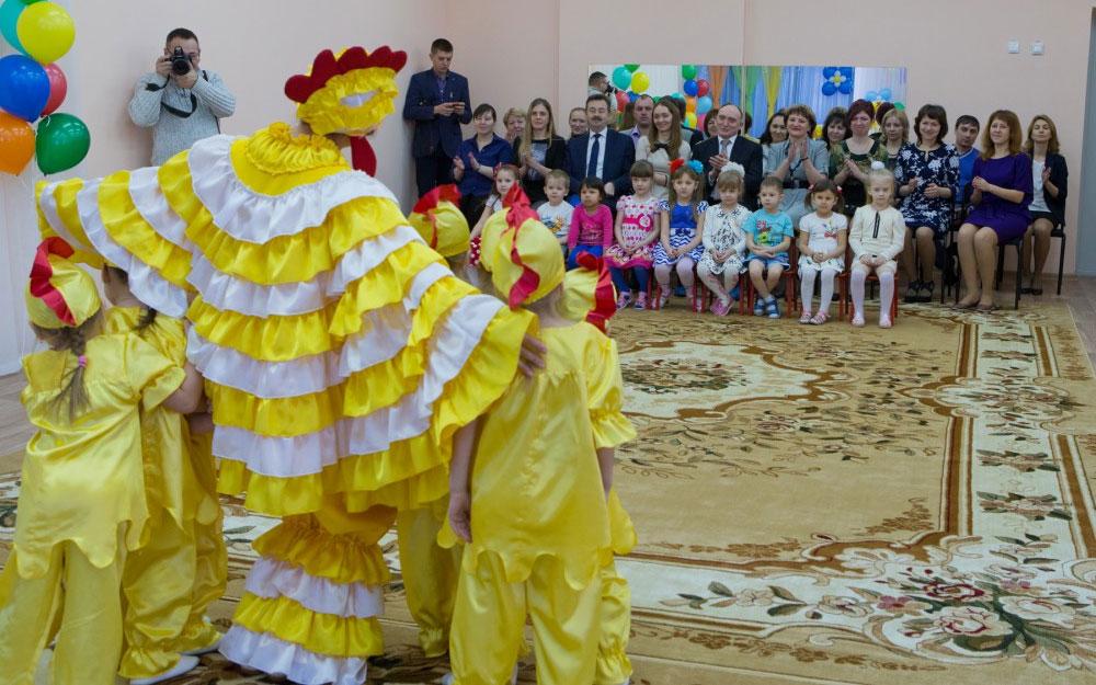 В Копейске начал работу новый детский сад