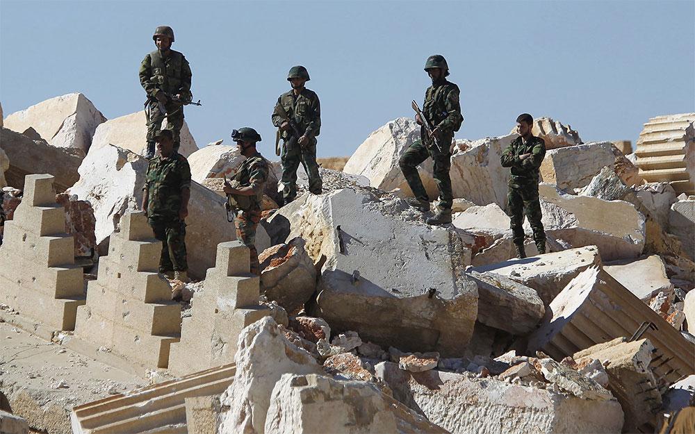 Армия Асада в Пальмире
