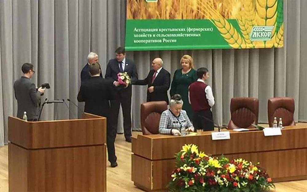 Константин Болдырев заслуженный фермер