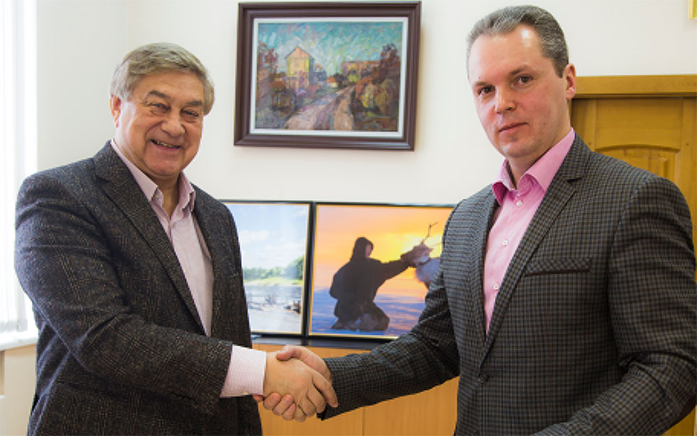 Павел Ходоровский и Иван Сакал