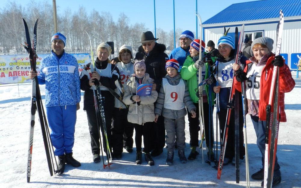 Александр Тихонов. Лыжная база