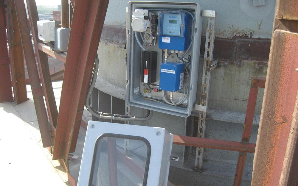 Контроль за выбросами в атмосферу ЧЭМК