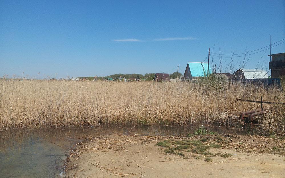 Озеро Малый Кременкуль. Участки