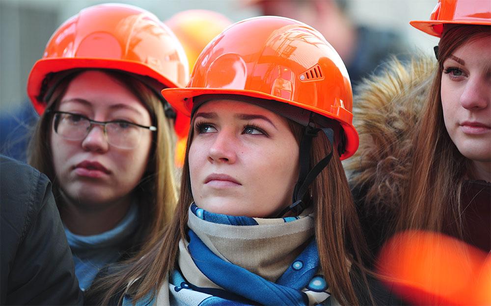Студенты ЧелГУ на ЧЭМК