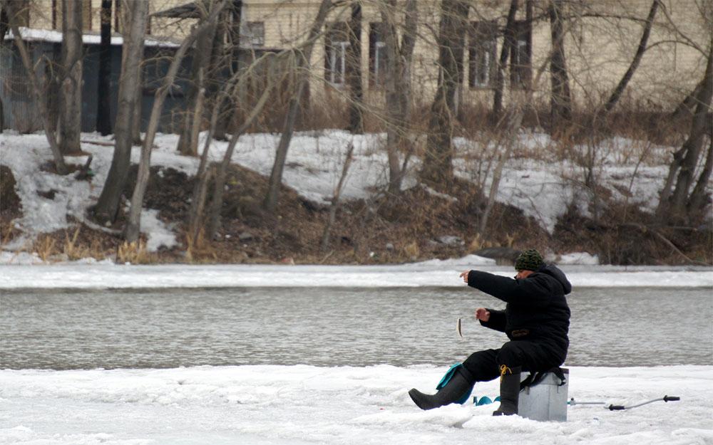 Рыбалка на реке Миасс