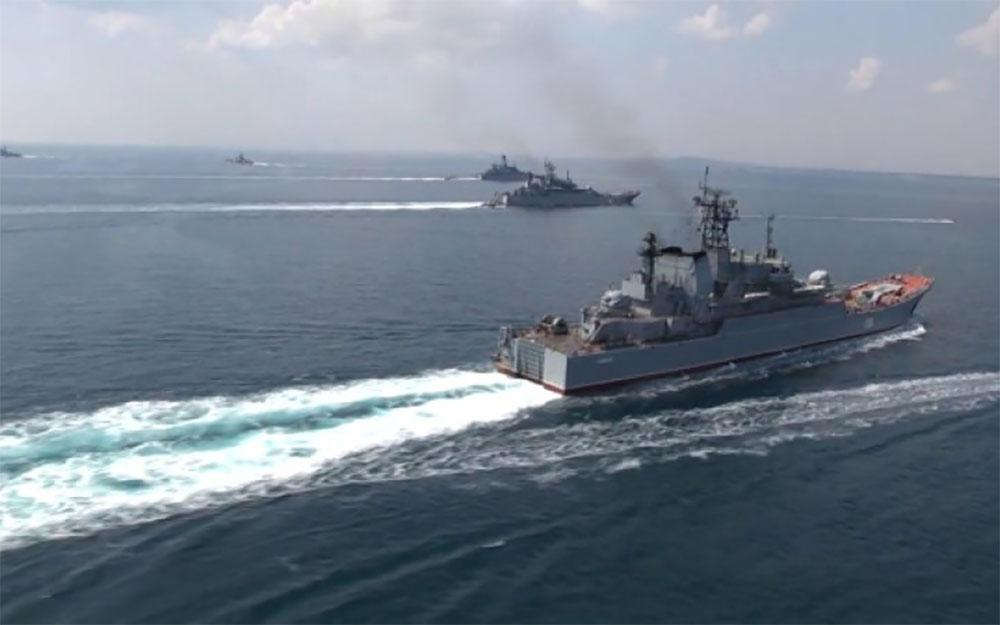ВМФ РФ в Босфоре