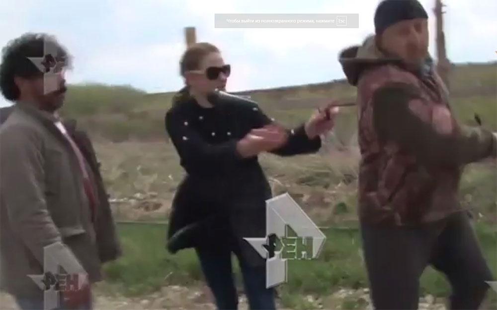 Нападение на журналистов РЕН ТВ