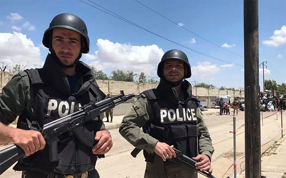 Полиция Хомса