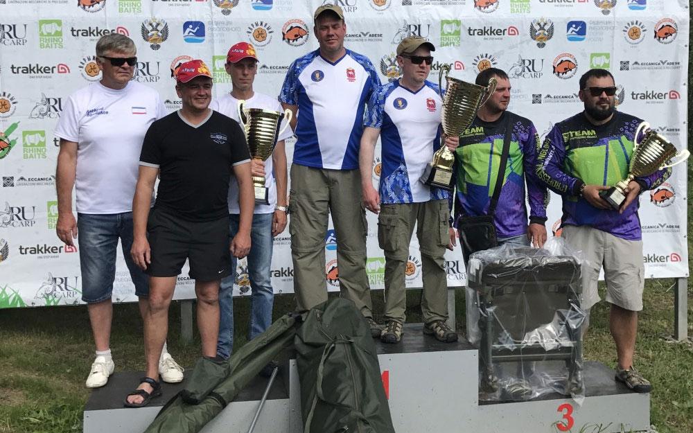 Челябинские карпятники стали лучшими на Кубке России