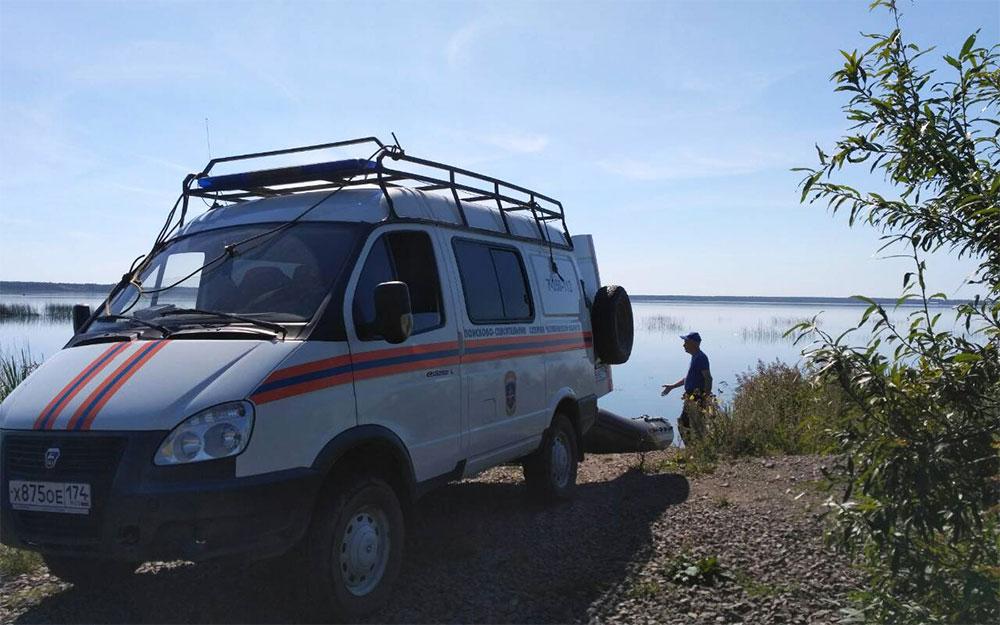 На озере Сугояк 1 утонул рыбак, не надевший в лодке спасжилет