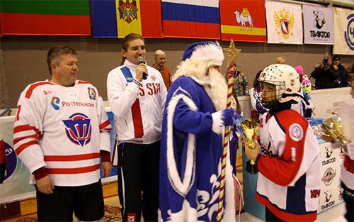В Челябинске стартовал турнир «Золотая шайба»