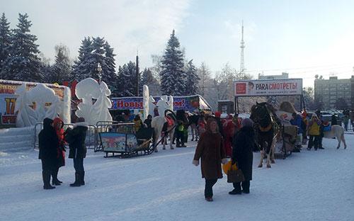 Новогодние праздники Челябинск