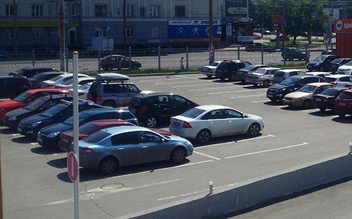 Парковки Челябинск