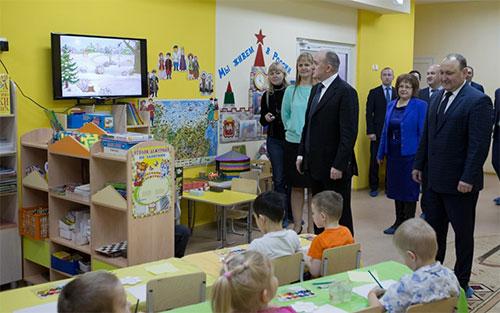 В Полетаево заработал новый детский сад