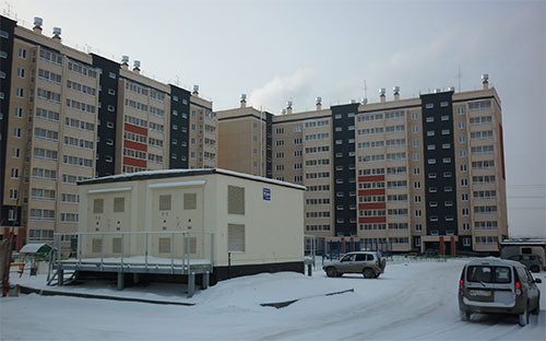 В Челябинске дом для льготников подключили к электросетям