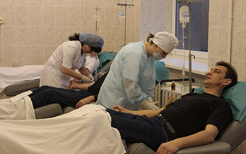 В Челябинской области доноры сдали уже почти 23 тысячи литров крови