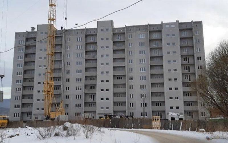 В Златоусте на месте заброшенного котлована возведен 10-этажный дом