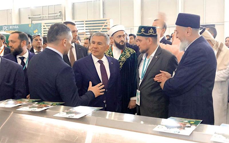 Халяль от «Рависа» высоко оценил президент Татарстана