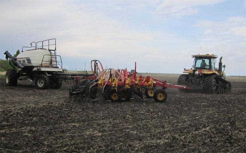 Яровой сев в Челябинской области набирает темп