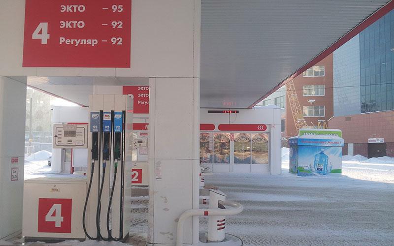 На ряде АЗС Челябинска подросла цена на дизтопливо
