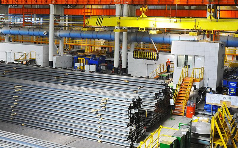ЧМК отгрузил миллион тонн рельсов для РЖД