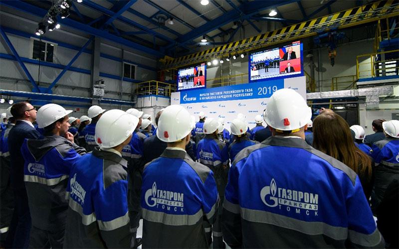 Газопровод «Сила Сибири» запущен в эксплуатацию