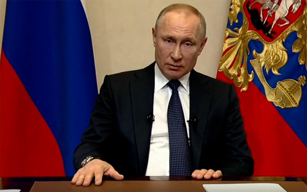 Путин объявил в России длинные выходные