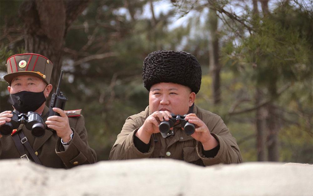 И с коронавирусом пуски ракет в Северной Корее по расписанию