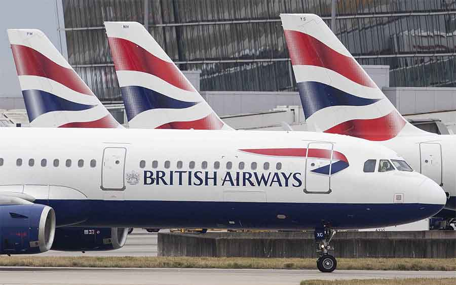 British Airways сократит рейсы в ноябре