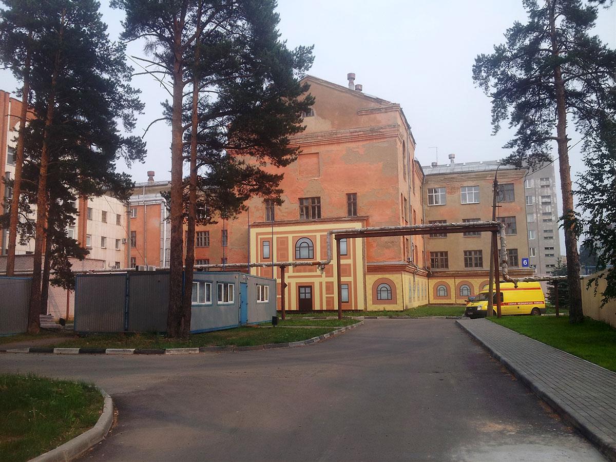 Морозовская больница пульмонологическое отделение