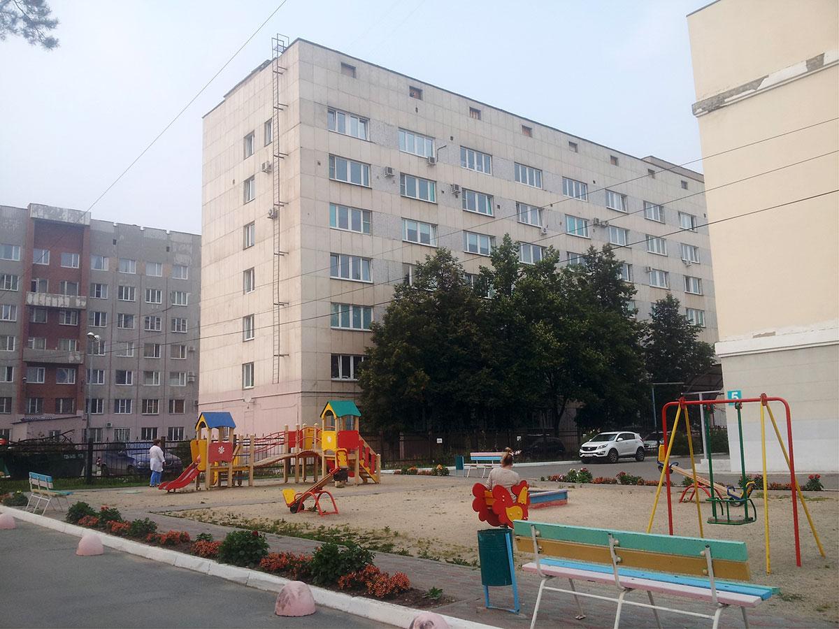 В челябинская больница 1