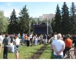 Концерт-митинг 15 мая 2010 г. в защиту челябинского органа на Алом поле