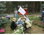 Посадка клумбы в парке им. Гагарина. – подарок городу в честь 15 летия банка