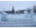 Еманжелинск. Ледяной городок.