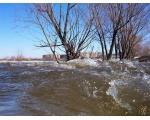 Разлив реки Чумляк весной