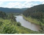 Кусинский район. Вид на реку Ай.