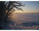 Большой Кисегач. Зимний закат (фото Жукова Игоря, Челябинск)