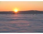Большой Кисегач. Зимнее солнце (фото Жукова Игоря, Челябинск)