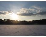 Озеро Большой Кисегач зимой (фото Федорахина Евгения, Челябинск)