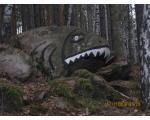 Большой Кисегач. Камень-рыба (фото Фельзенштейн Миланы, Челябинск)