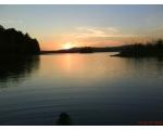Озеро Большой Кисегач на закате (фото Руслана Гирфанова, Копейск)