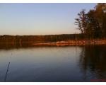 Озеро Большой Кисегач, красный закат (фото Руслана Гирфанова, Копейск)