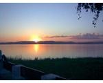 Озеро Иртяш на закате