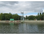 Городские пляжи на северном берегу (фото Олега Куделенского, Челябинск)