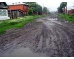 Дороги в Урефтах Сосновского района
