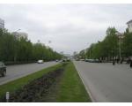 Центральный район. На проспекте Ленина